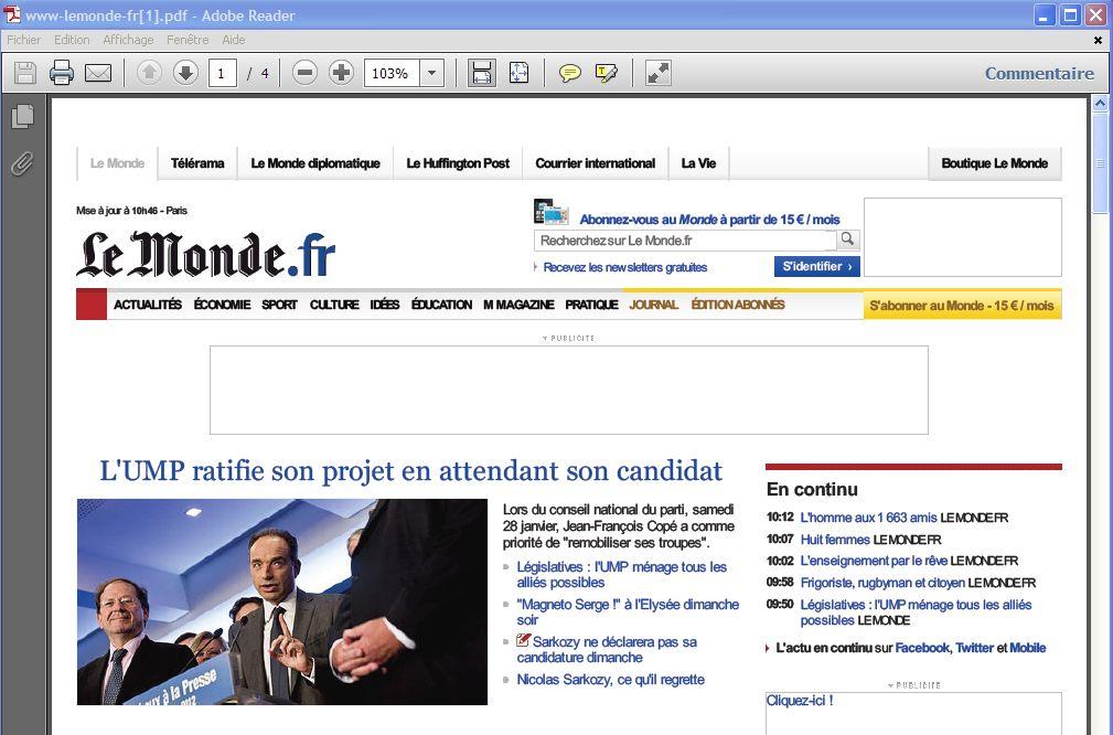 web page to pdf freeware